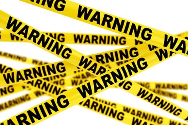 предупреждающие линии